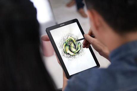 Trai nghiem but S Pen cua may tinh bang Galaxy Tab A 2016 - Anh 3