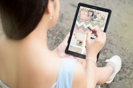 Trai nghiem but S Pen cua may tinh bang Galaxy Tab A 2016 - Anh 4