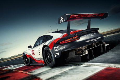 Porsche 911 RSR 2017 se xuat hien tai giai dua 24h Le Mans - Anh 3