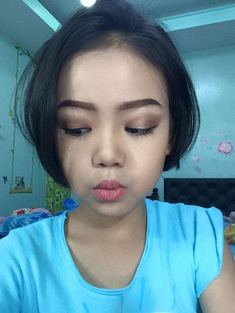 Be gai 10x tung khien MXH Viet sot vi clip day make up nay da xinh dep the nay day - Anh 4