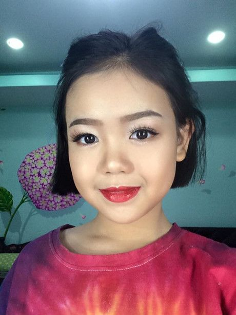 Be gai 10x tung khien MXH Viet sot vi clip day make up nay da xinh dep the nay day - Anh 6