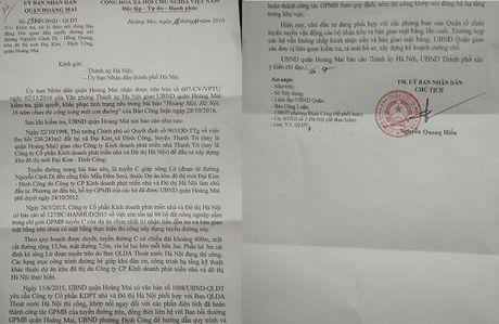 Hoi am bai Hoang Mai (Ha Noi): 16 nam chua thi cong xong mot con duong Se cuong che giai phong mat bang de lam duong - Anh 1