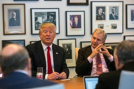 Tong thong dac cu Trump goi New York Times la bau vat quoc gia - Anh 1