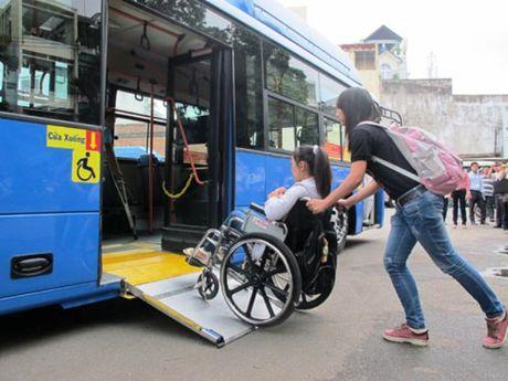 TP.HCM se co xe bus phuc vu nguoi khuyet tat - Anh 1