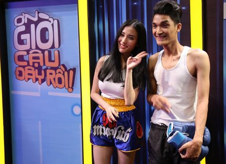 "On gioi! Cau day roi: Tran Thanh ngai ngung khi giap mat ""tinh cu"" Mai Ho - Anh 8"