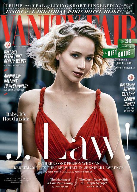 Jennifer Lawrence khoe than hinh hoan hao tren Vanity Fair - Anh 9