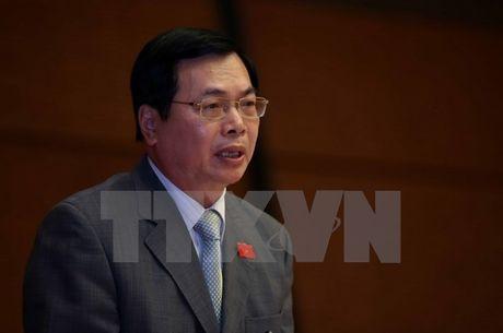 Quoc hoi phe phan nghiem khac doi voi ong Vu Huy Hoang - Anh 1