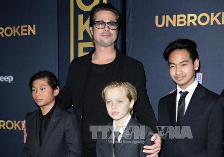 Brad Pitt khong bi dieu tra ve bao hanh con cai - Anh 1