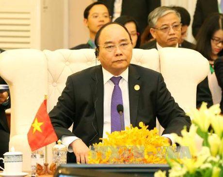 Thu tuong du Hoi nghi Cap cao Tam giac phat trien Campuchia – Lao – Viet Nam - Anh 2