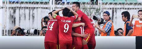Tuyen Viet Nam chinh thuc vao ban ket - Anh 1