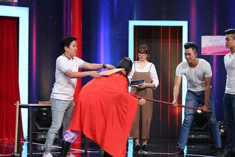 Hari Won 'da xeo' chieu cao cua Truong Giang - Anh 7
