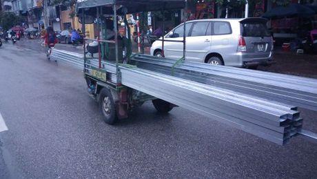 'May chem di dong' o at tai xuat tren duong pho Thu do - Anh 1