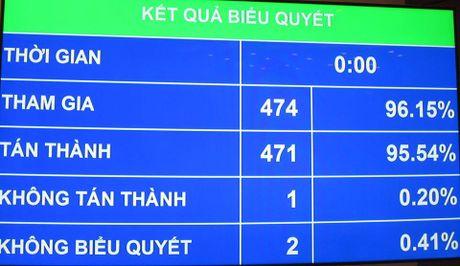 QH phe phan nghiem khac ong Vu Huy Hoang truoc QH va cu tri ca nuoc - Anh 1
