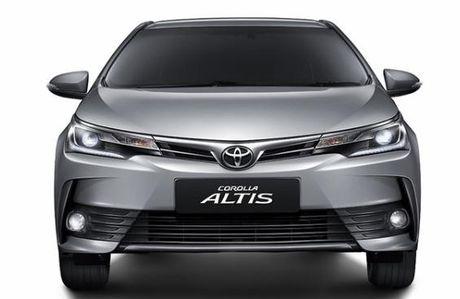 Toyota thay doi thiet ke phien ban Altis - Anh 1