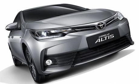 Toyota thay doi thiet ke phien ban Altis - Anh 3