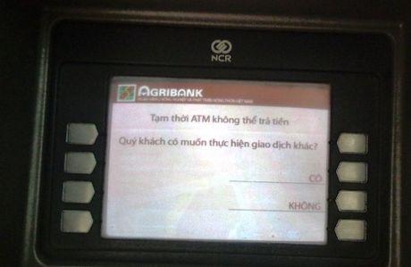 Khach hang Agribank bi rut mat 100 trieu dong tu tai khoan trong dem - Anh 1