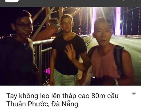 Da Nang: Xem xet du lich mao hiem len dinh cau Thuan Phuoc? - Anh 2