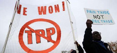 Canh bao he luy sau tuyen bo rut khoi TPP cua ong Donald Trump - Anh 1