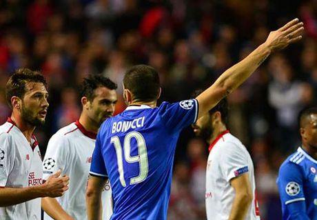 Sevilla - Juventus: Chiec the do tai hai - Anh 1