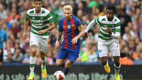 Celtic – Barcelona: Messi, Suarez, Neymar tai xuat - Anh 1