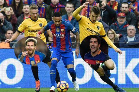 Barca: Buon, vui cung boi Messi-Suarez-Neymar - Anh 1