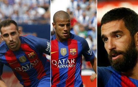 Barca: Buon, vui cung boi Messi-Suarez-Neymar - Anh 2