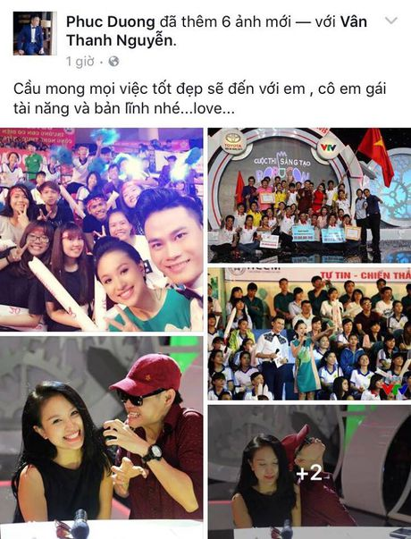 Sao Viet cung khan gia gui loi dong vien MC Van Hugo - Anh 3