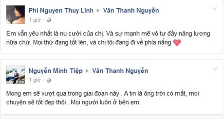 Sao Viet cung khan gia gui loi dong vien MC Van Hugo - Anh 5