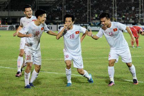 TRUC TIEP Viet Nam – Malaysia(H.1 0-0): Cong Phuong, Van Toan du bi - Anh 2