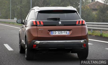 Peugeot 3008 len lich ra mat tai Malaysia - Anh 3