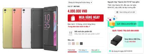 Sony giam gia Xperia XA ca trieu, tang dock sac - Anh 2