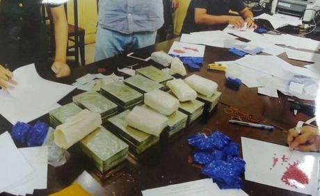 Giau 20 banh heroin trong canh cua o to mang xuong Ha Noi tieu thu - Anh 2