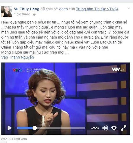 Nhieu nguoi ham mo lo lang suc khoe Thanh Van Hugo - Anh 1