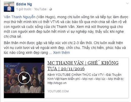 Nhieu nguoi ham mo lo lang suc khoe Thanh Van Hugo - Anh 4