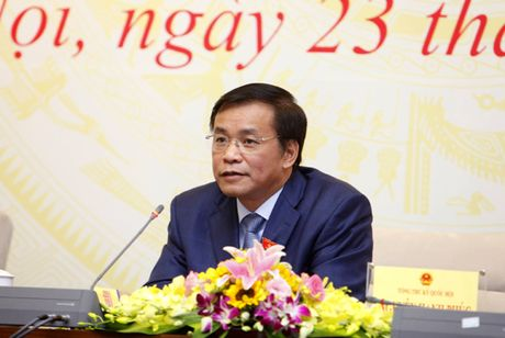 Tong Thu ky Quoc hoi: Ong Vu Huy Hoang neu vi pham hinh su, se bi khai tru khoi Dang - Anh 1