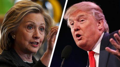 Hillary Clinton dan truoc 1,7 trieu phieu pho thong, nhom dai cu tri muu lat Donald Trump - Anh 1