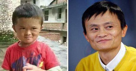 Cau be ngheo 8 tuoi gay sot nho giong ty phu Jack Ma - Anh 1