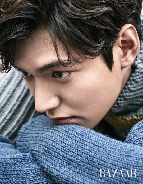 'Boi' vao day ngam tron nhung khoanh khac ngot lim cua Lee Min Ho tren tap chi thoi trang - Anh 1