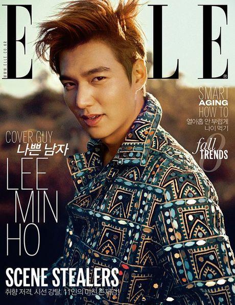 'Boi' vao day ngam tron nhung khoanh khac ngot lim cua Lee Min Ho tren tap chi thoi trang - Anh 5