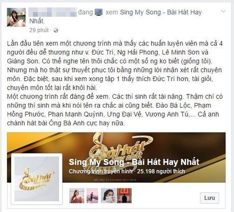 Chi sau 3 ngay, Sing My Song - Bai hat hay nhat gay dot pha voi hang trieu luot xem - Anh 5