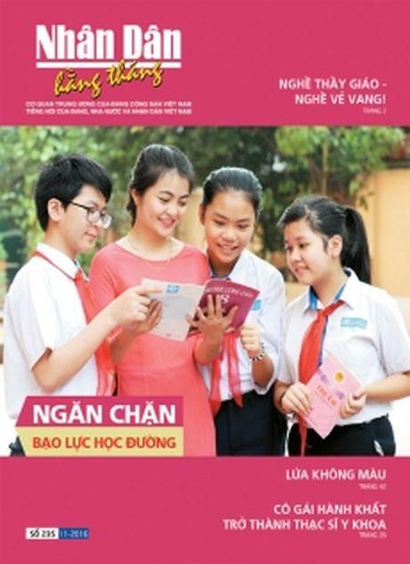Don doc Nhan Dan hang thang so 235 (Thang 11-2016) - Anh 1