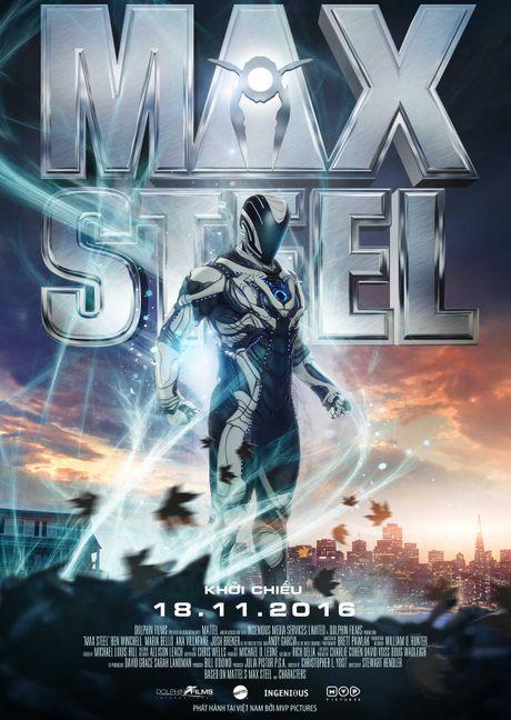'Max Steel': Phim sieu anh hung kieu 'nha ngheo' - Anh 1