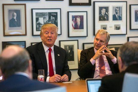 Sau mang bao chi, Trump goi NY Times la bau vat quoc gia - Anh 1