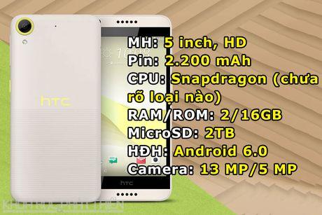 HTC ra mat smartphone thiet ke doc la, gia gan 4 trieu dong - Anh 1