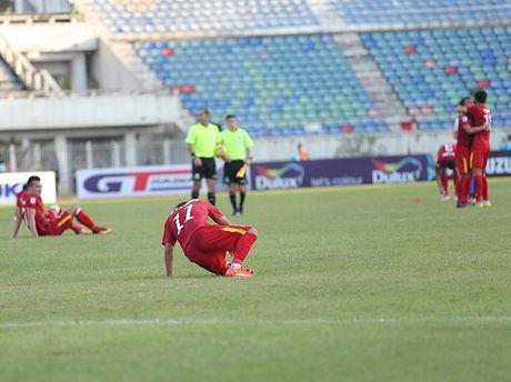 Nhieu tuyen thu Viet Nam kiet suc sau tran thang Malaysia - Anh 1