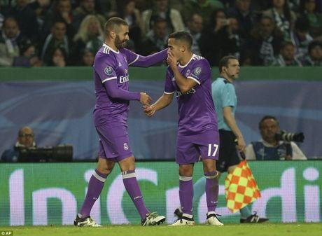 Ket qua Sporting - Real: Dang cap ngoi sao - Anh 1