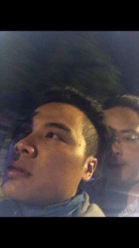 Tai xe dam CSGT danh lac huong cong an, tron xuong Thai Binh - Anh 2
