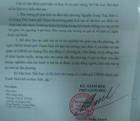 Phat hien tuong go mac comple, deo ca vat tai Thanh Hoa - Anh 1