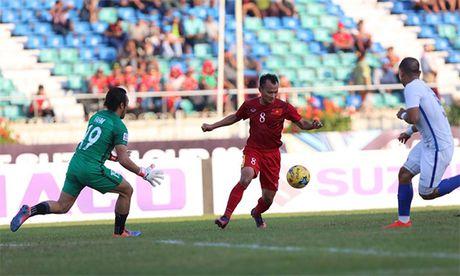Ban thang cua Trong Hoang vao luoi Malaysia - Anh 1