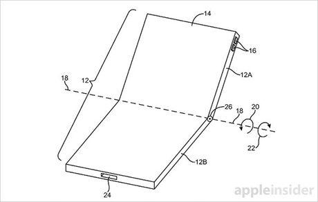 iPhone 8 co the duoc thiet ke gap doi, uon deo thoai mai? - Anh 1